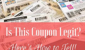 Is This Coupon Legit? Here's How to Tell!