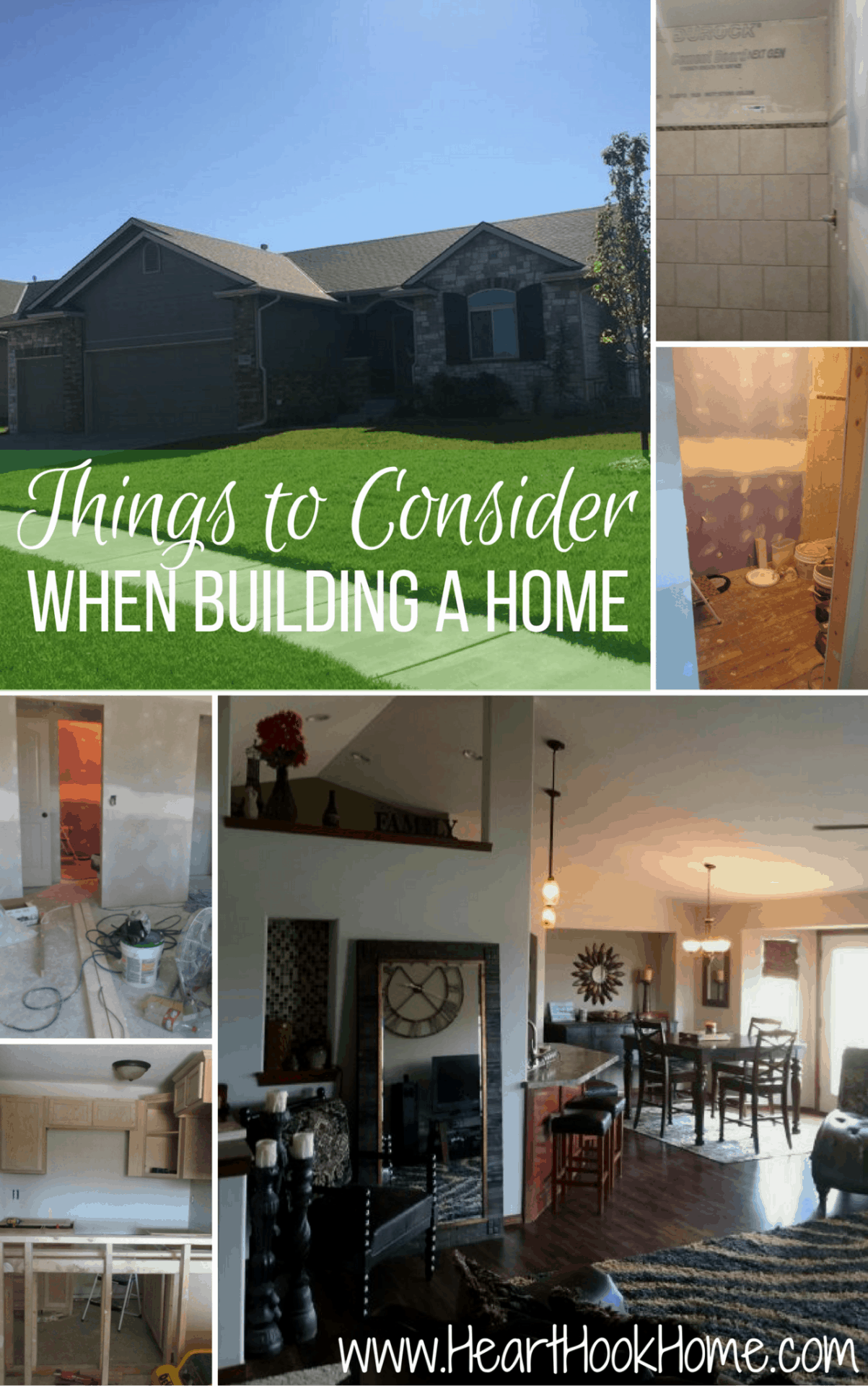 Things to consider when building or buying a home for Things to include when building a house