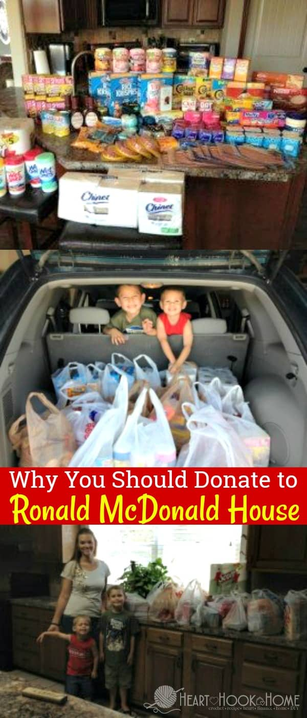 Why You Should Donate to the Ronald McDonald House