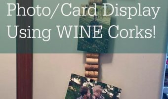 DIY: Photo/Card Display – Frugal, EASY and Cute!