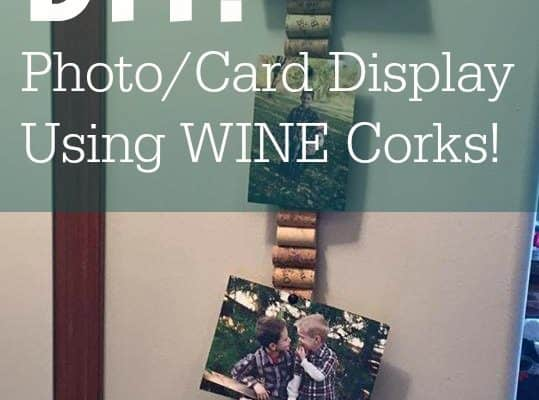 DIY Photo Card Display Stick