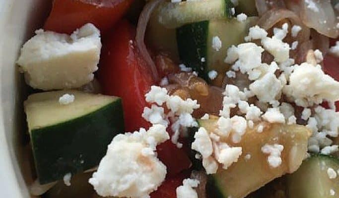 Old German Tomato Salad Recipe + Secret Ingredient