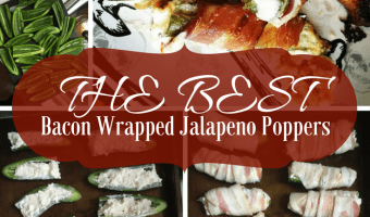 Cream Cheese Stuffed Bacon Wrapped Jalapenos