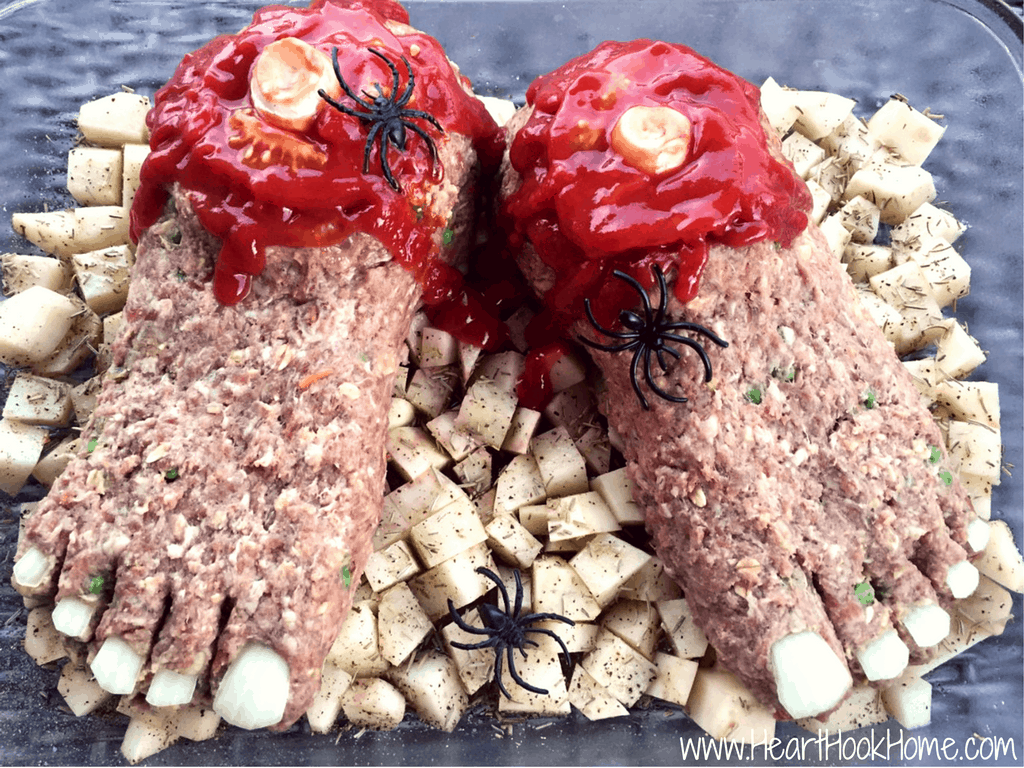 pauls famous feetloaf meatloaf recipe - Halloween Meat Recipes