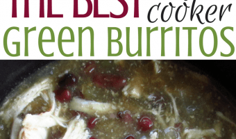 Paul's OMG Slow Cooker Green Burritos