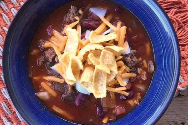 Crock-Pot Beer Chili