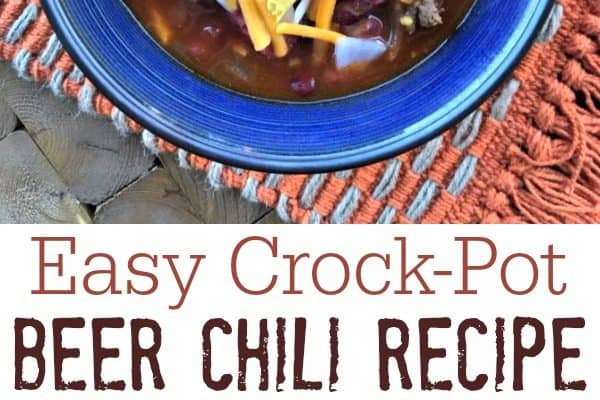 The Best Crock-Pot Beer Chili Recipe Ever