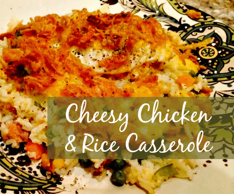 Cheesy Chicken & Rice Casserole Recipe