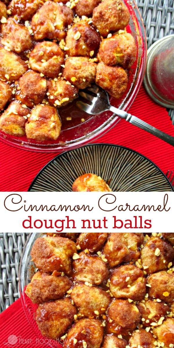 Cinnamon Caramel Dough Nut Balls Recipe Perfect for Breakfast!