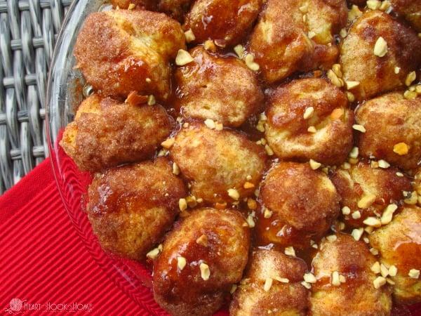 Cinnamon Caramel Nut Balls