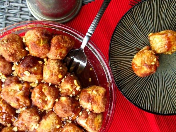 Cinnamon Nut Dough Balls