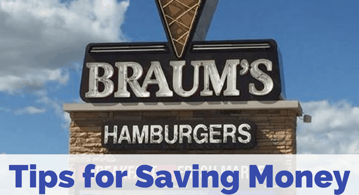 Tips for Saving Money at Braums