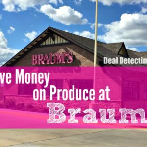 Tips for Saving Money at Braums Produce/Grocery :: Look for Peelies, Cheap Bacon, FREE Milk and More!