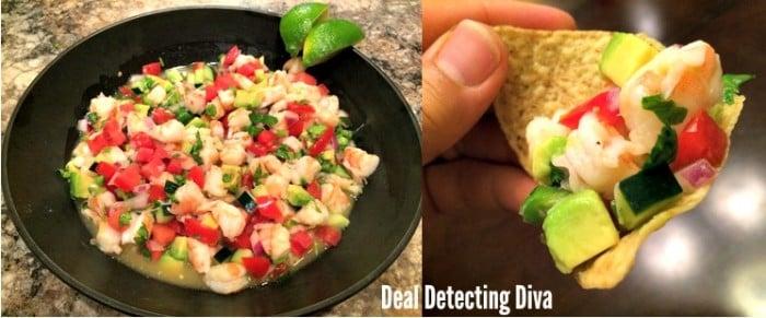 Paul's Tequila Lime Mango Shrimp Ceviche Recipe