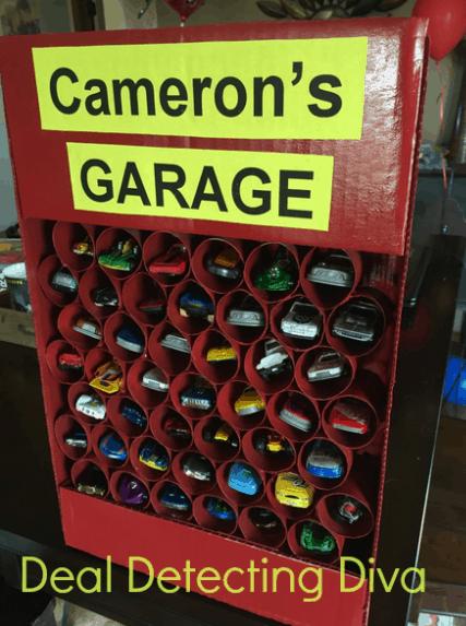 Diy Toy Car Parking Garage Heart Hook Home