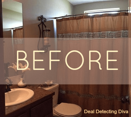 How to Create a Swanky Bathroom Look with One Simple Addition