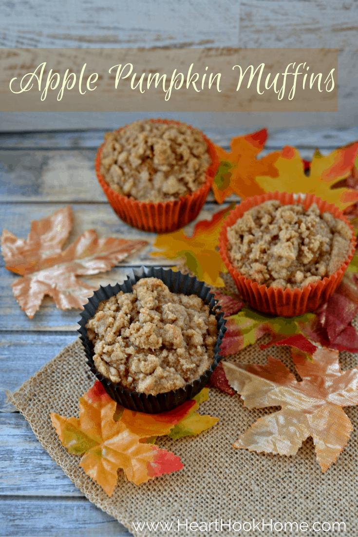 Apple Pumpkin Muffin Recipe