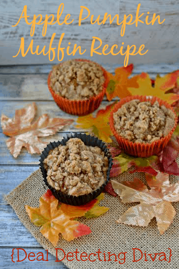 Apple Pumpkin Muffin Recipe – Happy Fall!