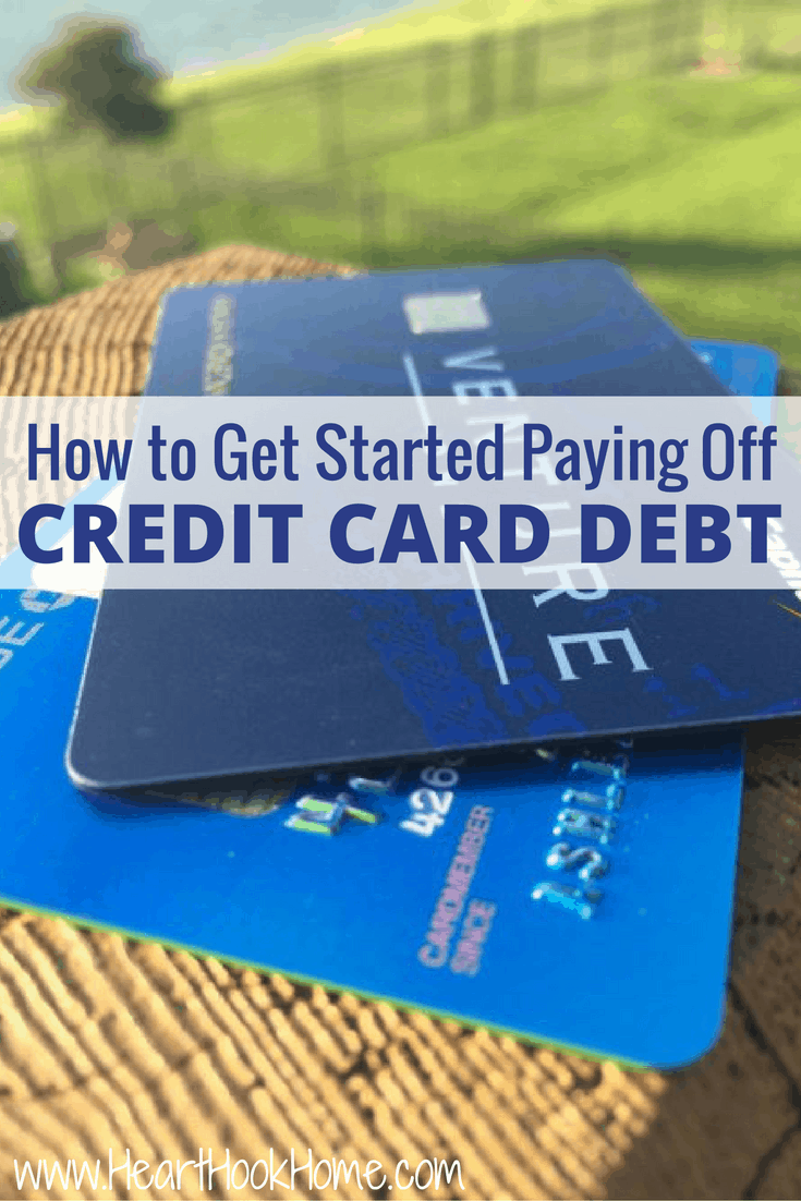 How to Get Started Paying Off Credit Card Debt