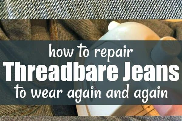 How to Repair Threadbare Jeans