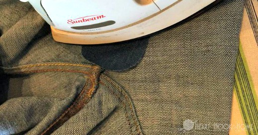 Repairing old Threadbare Jeans to Wear Again