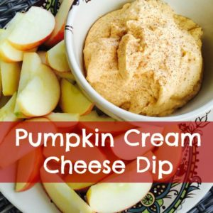 Pumpkin Cream Cheese Dip – Easy and Quick!