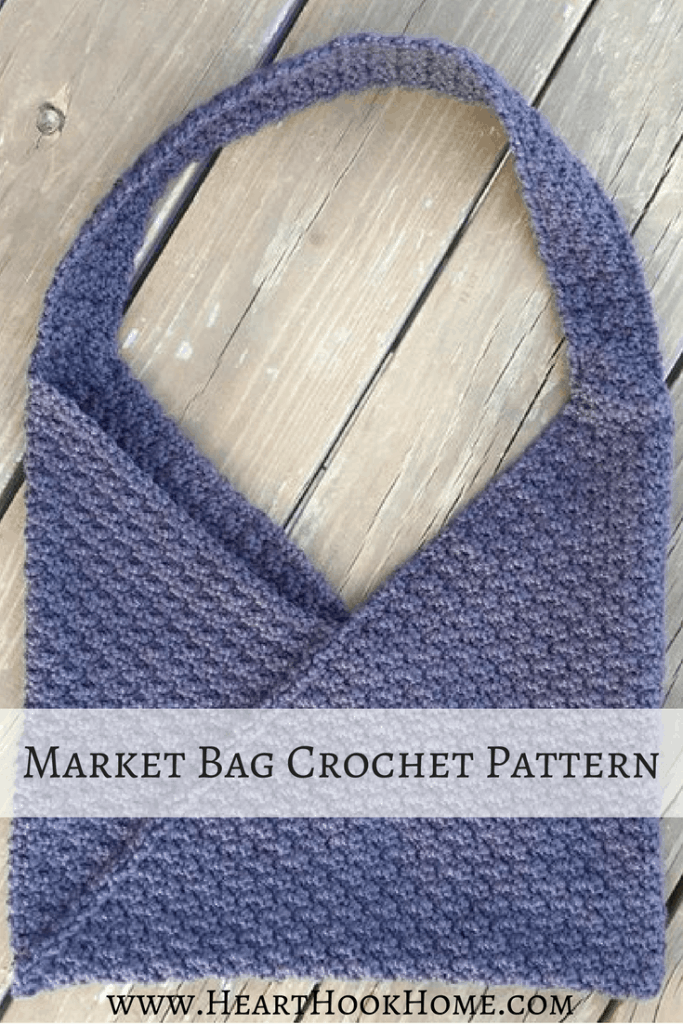 Market Bag Crochet Pattern (Featuring Azuma Bukuro Folding Method)