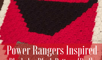 Power Rangers C2C Crochet Graphgan Pattern – Block by Block (Red)