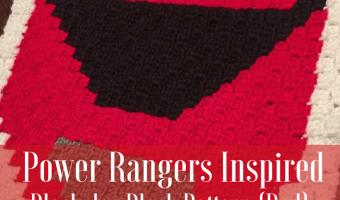 Power Rangers C2C Crochet Graphgan Pattern – Block by Block (Red)