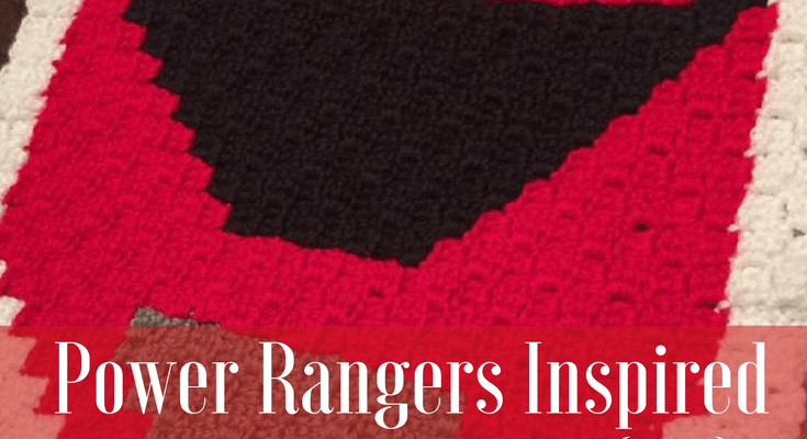 Power Rangers C2C Crochet Graphgan Pattern - Block by Block (Red)
