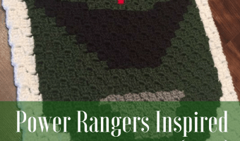 Power Rangers C2C Crochet Graphgan Pattern – Block by Block (Green)