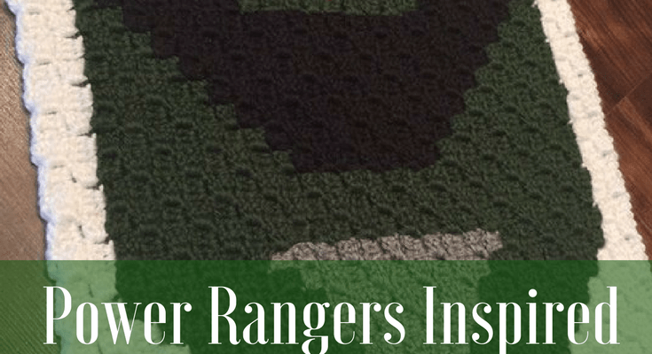 Power Rangers C2C Crochet Graphgan Pattern - Block by Block (Green)