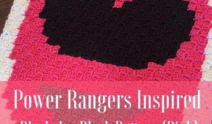 Power Rangers C2C Crochet Graphgan Pattern – Block by Block (Pink)