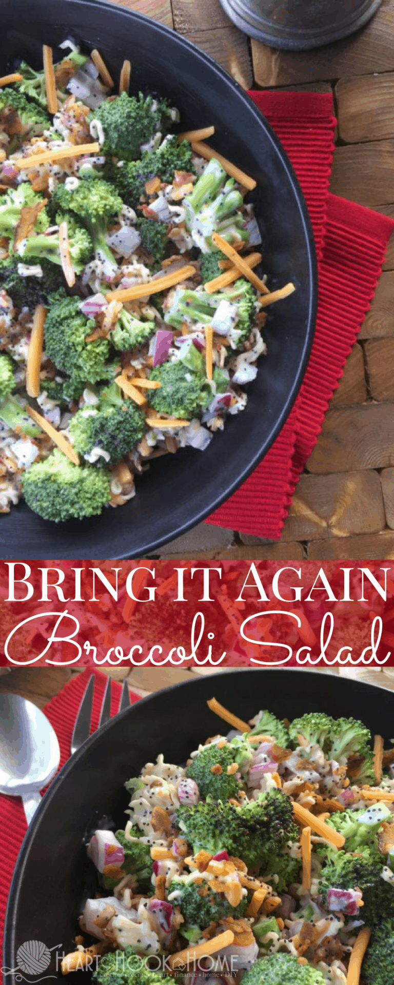 Bring it Again Broccoli Salad with Ramen Recipe