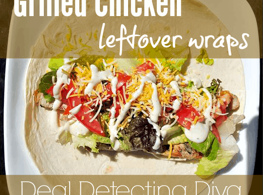 Quick 'N Easy Grilled Chicken Wrap Recipe