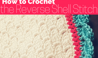 Reverse Shell Stitch Tutorial :: Crochet Technique (with photos)