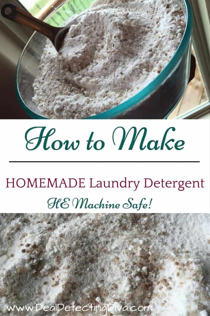 How to Make Homemade Laundry Detergent (HE Safe!)