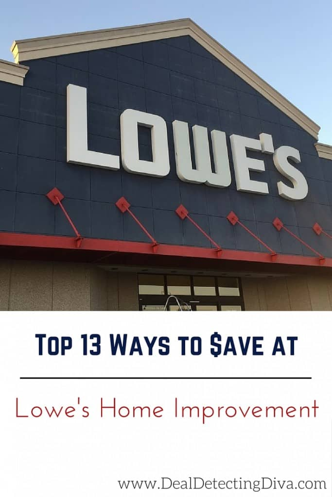 Top 13 Ways to Save at Lowe's Home Improvement