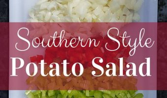 Southern Style Potato Salad Recipe :: Makes 15 Servings, Make up to THREE Days in Advance!