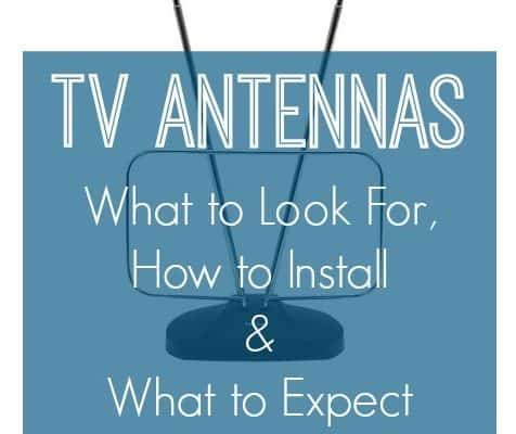 Tips for Buying TV Antennas {Cut the Cable Cord}