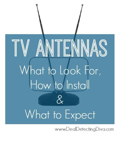 Buying TV Antennas :: What to Look For, How to Install & What to Expect