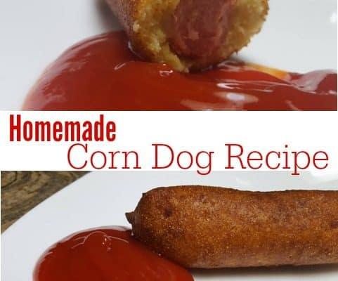 How to Make Homemade Corn Dogs