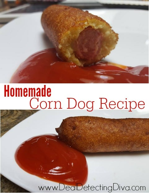 How to Make Homemade Corn Dogs