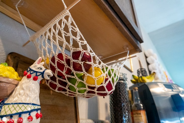 Fruit Hammock Free crochet pattern
