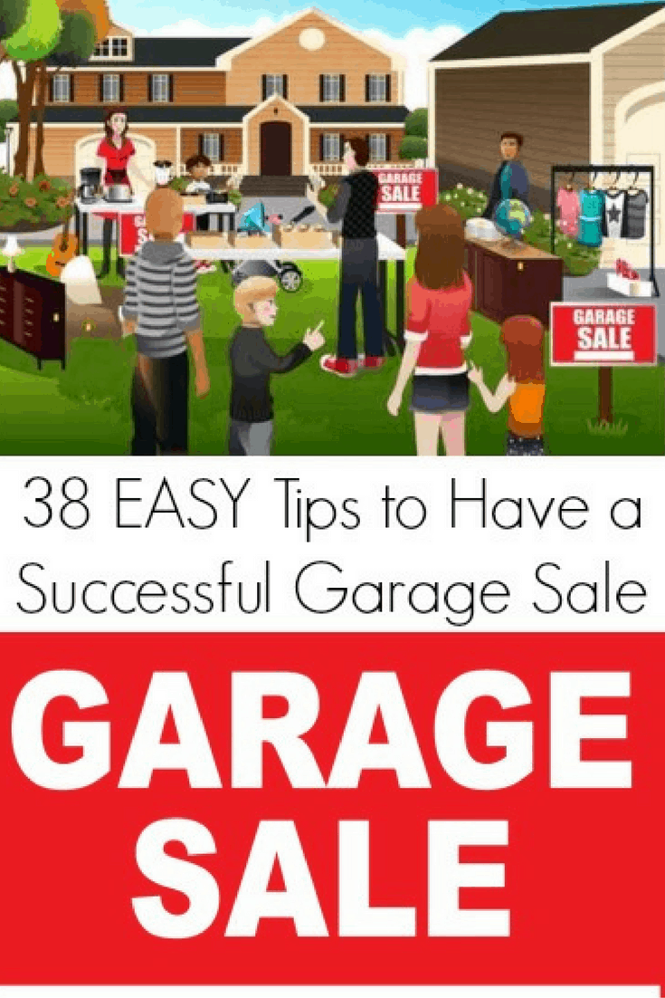 38 Easy Tips to Have a Successful Garage Sale