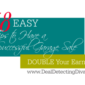 38 EASY Tips to Have a Successful Garage Sale – DOUBLE Your Earnings!