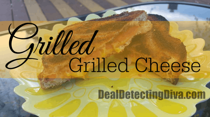 Grilled Grilled Cheese :: Simple, Quick and Easy South African Recipe