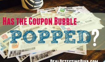 Has the Coupon Bubble Popped? The New Digital Age of Coupons is Coming