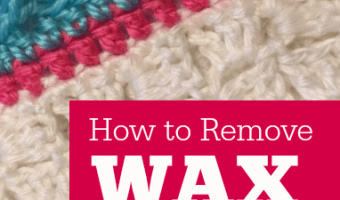 How to Remove Wax from Yarn