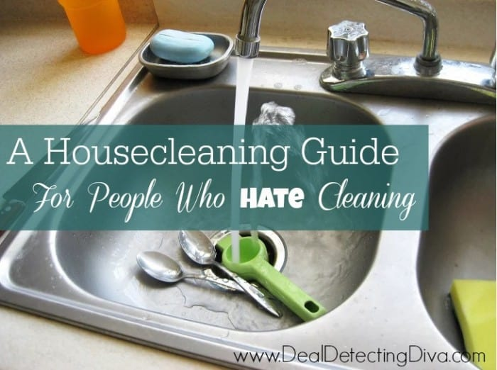 A Housecleaning Guide For People Who Hate Cleaning